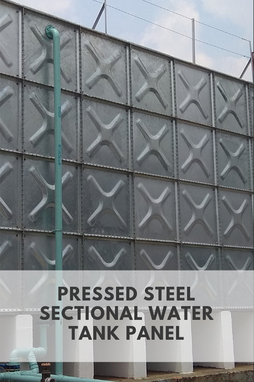 Pressed Steel Section Water Tank Panel Manufacturer | Water Tank Manufacturer Malaysia